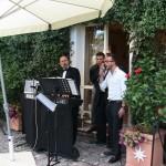 Esempio di karaoke a Villa Campo Selva - Pomezia