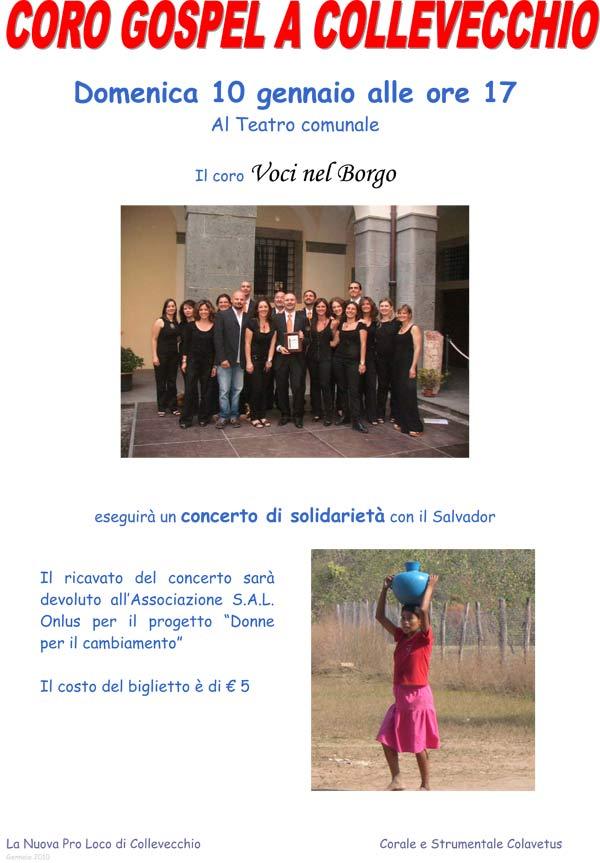 Microsoft Word - Locandina Gospel.doc
